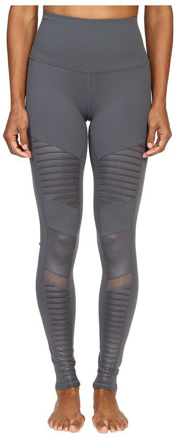 Slip Into Fall — and a Pair of These High-Waisted Yoga Pants Alo High Waisted Moto Leggings Alo High Waisted Moto Leggings ($114)