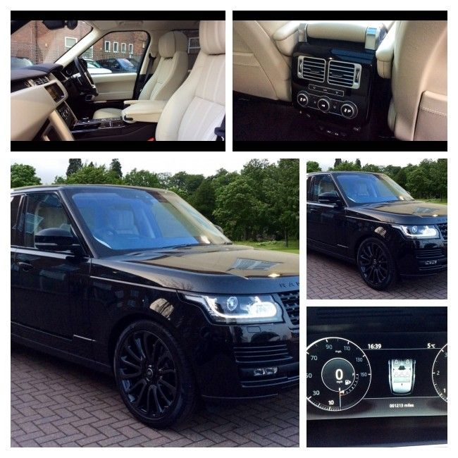 Monday Completed! Black 2017 Range Rover, 840 miles, £98,000 https://v5cars.co.uk/buy-used-car/132634/land%20rover/range%20rover #barnet #RangeRover #forsale #cars #family #4x4