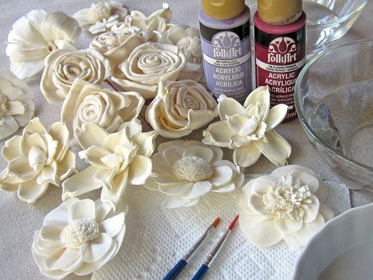 How to Paint Sola Flowers                                                                                                                                                                                 More