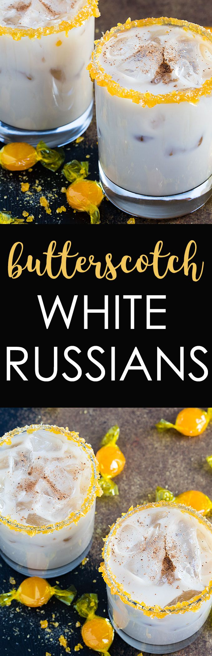 Butterscotch White Russians