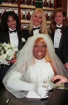 dennis rodman chopper and wedding dressses on pinterest