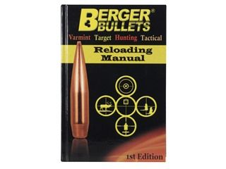 """176496 The Berger """"Reloading Manual 1st Edition contains a wealth of information from some of most well-known names in the firearms industry.  This..."""
