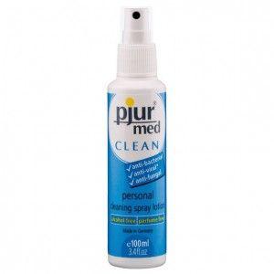 Spray czyszczący - Pjur MED CLEAN Spray 100 ml - Świat-Erotyki.pl