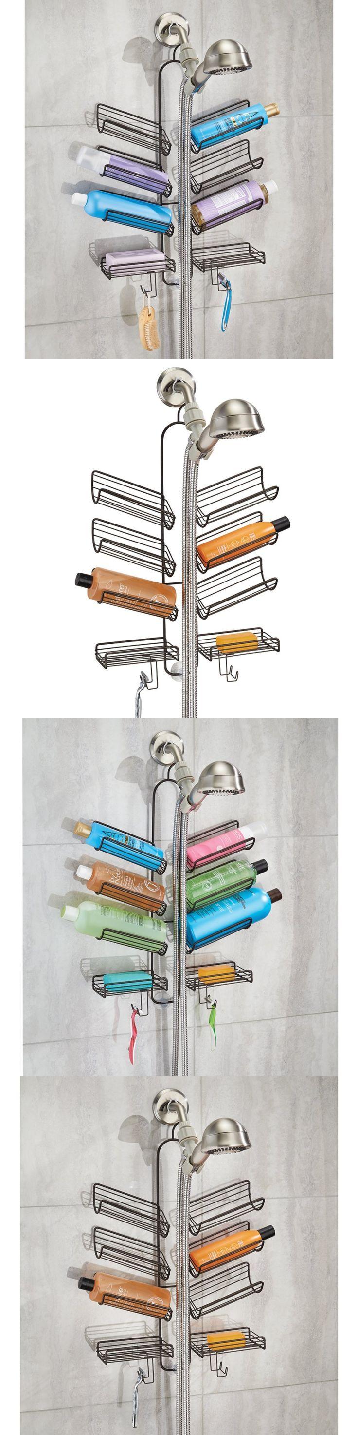 Bath Caddies and Storage 54075: Bathroom Shower Caddy Organizer Storage For Shampoo Conditioner Soap Body Wash -> BUY IT NOW ONLY: $31.22 on eBay!