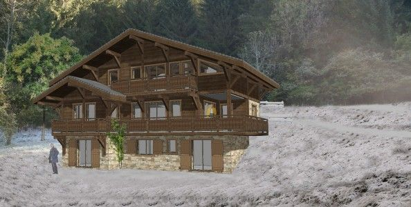 Ski Ski Chalet, Off-plan, for sale in Morzine, French Alps€1.45m