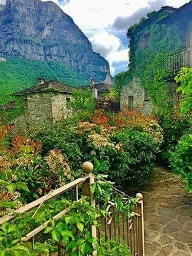 At the mazingly beautiful Zagorochoria villages ~ Epirus
