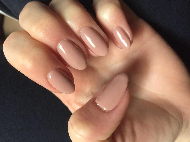 Customer pic of Satin Pajamas nude shellac gel polish