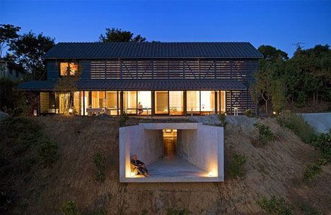 Container Homes Undergroun Balcony Beautiful Barn Home With A Twist