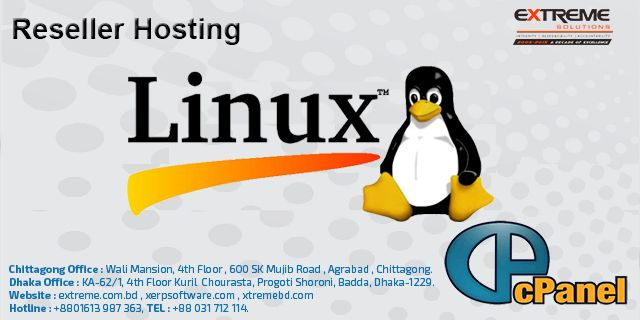 Linux Hosting Beginning from 1300 tk(1 Domain+2 GB Hosting) every year. We are also offer Linux Reseller Hosting In Cheap Price, and guarantees you are getting one of the Minimum Price, moreover most adaptable Linux Shared Hosting arrangements in Bangladesh. Along these lines Our bother free Linux Shared Hosting with boundless elements guarantees simple administration of your site round the clock, and our every minute of every day client administration is here to guarantee that any issues…