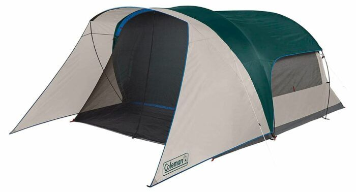 Coleman Cabin Camping Tent With Screen Room 6 Person In 2021 Tent Cabin Camping Tent Camping