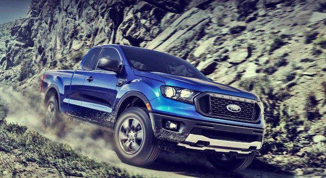 2020 Ford Ranger Hybrid Pickup Truck Ford Ranger 2020 Ford