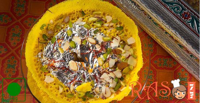 Rajasthani Ghevar Recipe