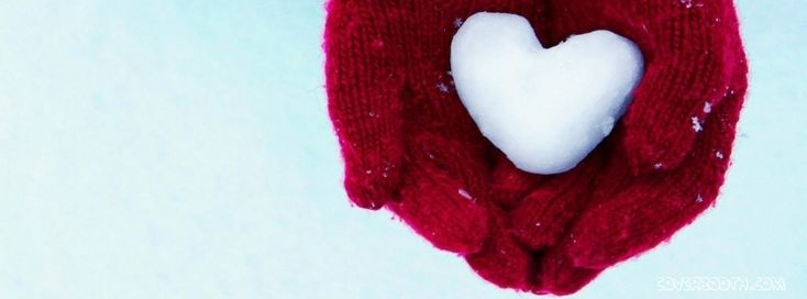 Hands Gloves Heart Snow Winter  wear stunning snow heart beautiful cool facebook timeline profile covers