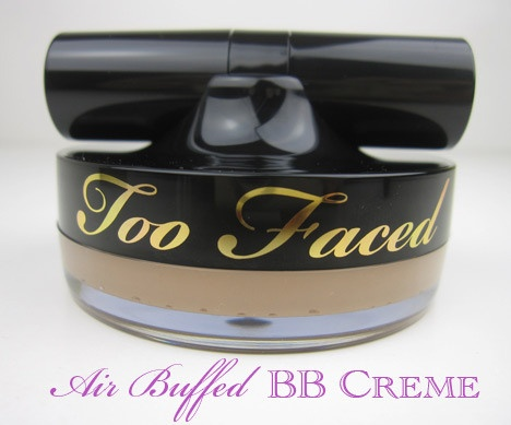 Too Faced Air Buffed BB Creme - swatches and review. This BB Creme comes with a soft brush, is 100% cruelty-free and has a cream-to-powder formula that builds from a sheer wash of color to almost-full coverage. Love!