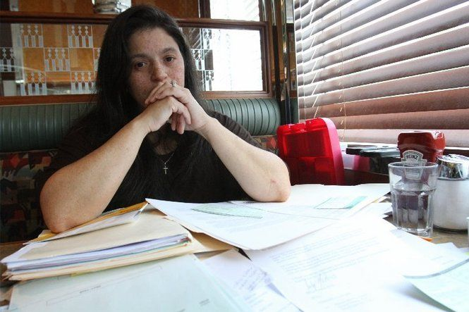 Maritza Cortes, a former Camden City police officer, was injured on the job. Those injuries have not been appropriately addressed by the police department's insurance company.