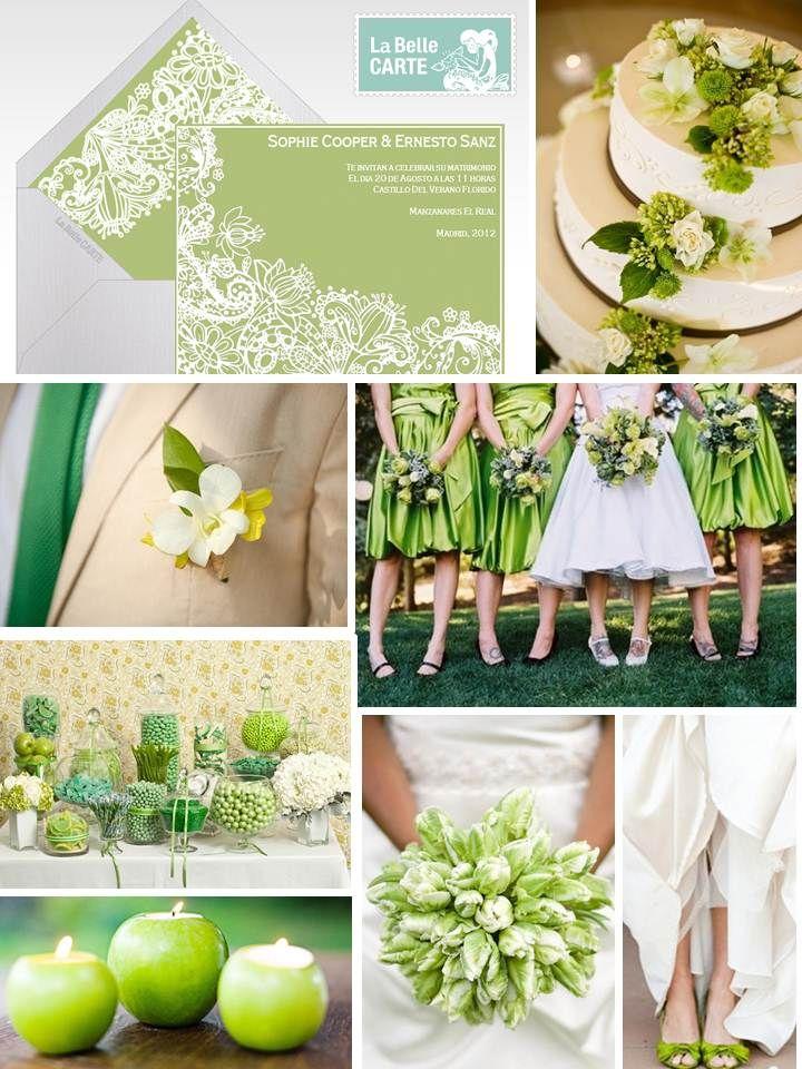 Invitaciones de boda, boda verde, ideas boda verde