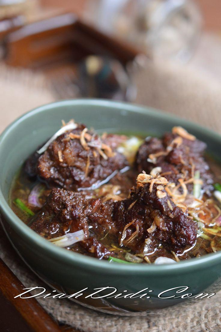 Diah Didi's Kitchen: Perkedel Jamur & Rawon Iga *Nyemek*