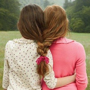 Braid your hair together like sisters. | 37 Impossibly Fun Best Friend Photography Ideas
