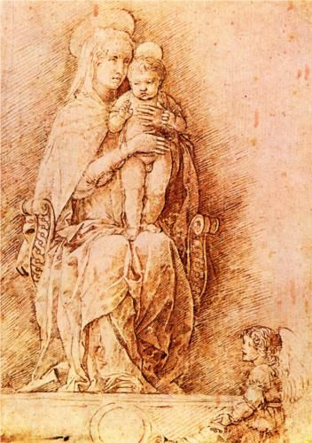 Madonna and child - Andrea Mantegna