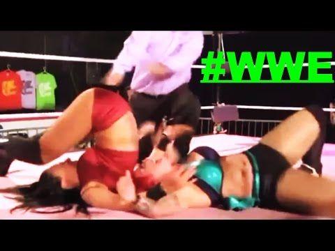 Đấu Vật Tự Do Thế Giới | Courtney Rush vs Mercedes Martinez vs LuFisto v...