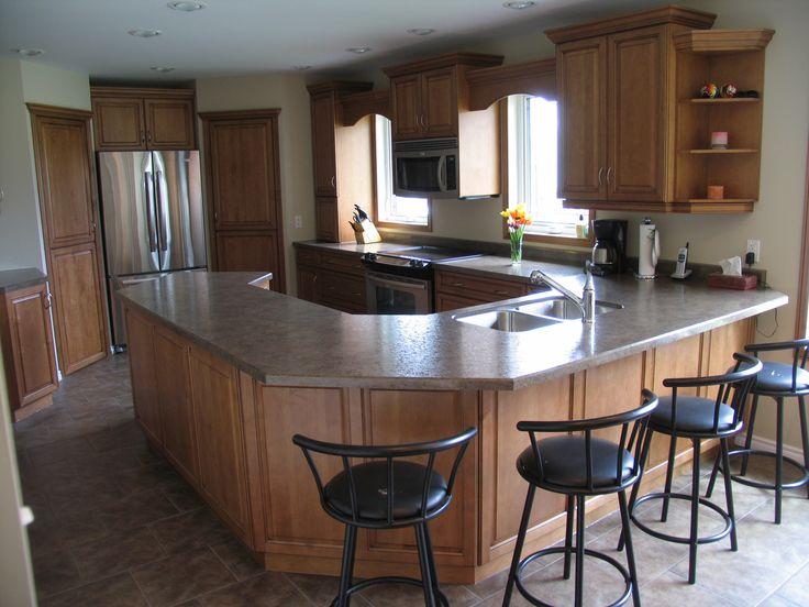 Cabinets Maple Wheatfield With Black Glaze