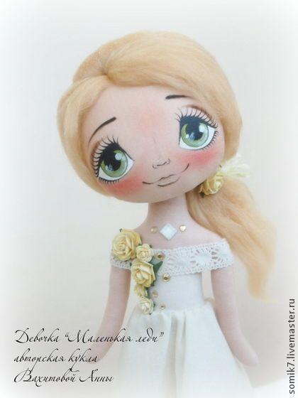 """Девочка """"Маленькая Леди"""" - коллекционная кукла,авторская кукла,единственный экземпляр"""