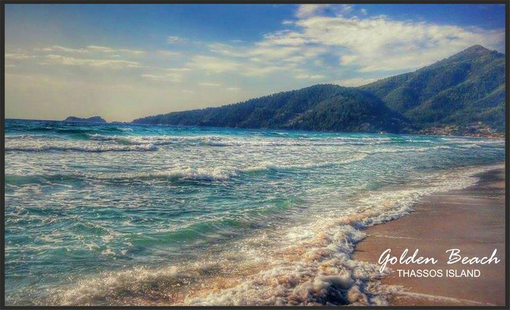 GoldenBeach ThassosIsland Greece AnetonHotel  go with the waves..............  ❤https://www.facebook.com/pages/Aneton-hotel/134468003383451