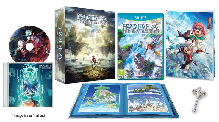 Unboxing Rodea The Sky Soldier Collector's Edition per Wii U