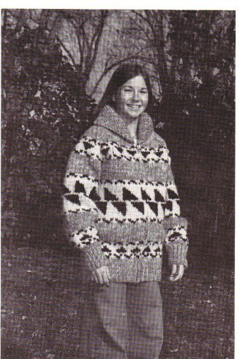 10 best cowichan indian sweater patterns from my website images on buffalo for men and women sizes 36 to 46 inch chest pdf pattern dt1010fo
