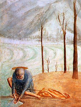 Paiement du Tribut, Masaccio, Florence, chapelle Brancacci