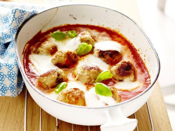 Balletjes met tomaat en mozzarella - Libelle Lekker!