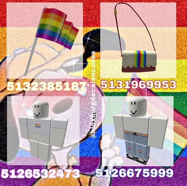 Bloxburgandco Sur Instagram Pride Outfit Happy Pride Month Everybody Pridemonth Lgbtq B Decal Design Roblox Codes Roblox Pictures