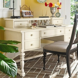 Sweet Tea Writing Desk in Linen