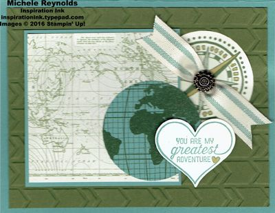 Going Global Greatest Adventure Maps by Michelerey - Cards and Paper Crafts at Splitcoaststampers
