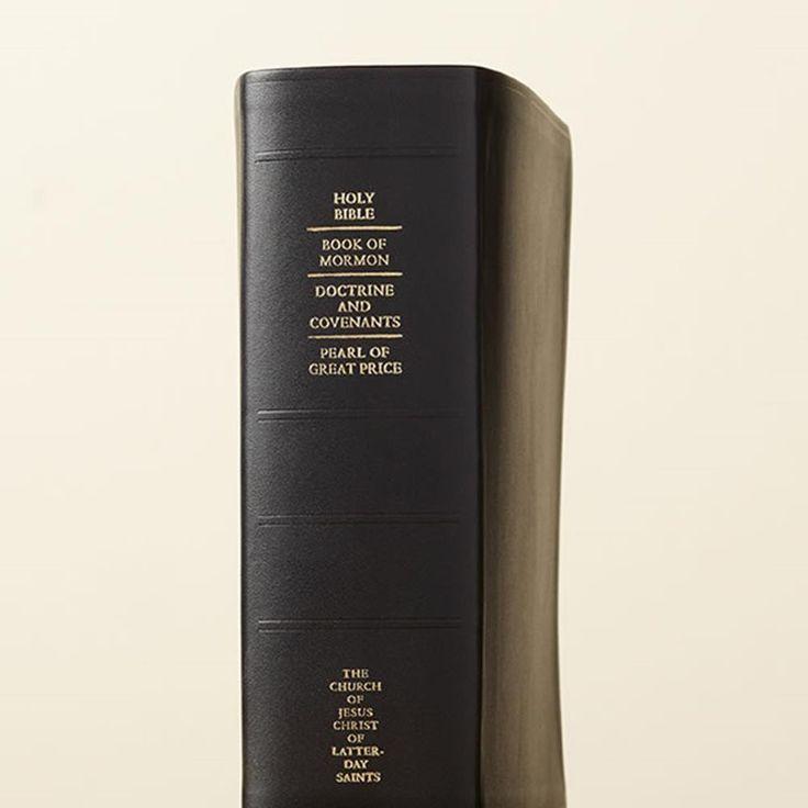 Regular Quad - Genuine Leather | Quad Combination on LDSBookstore.com (#LDS-QUADREG-GEN-2013)