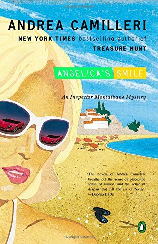 Angelica's Smile by Andrea Camilleri   A rash of burglaries has got Inspector Salvo Montalbano stumped. The criminals are so brazen that their leader, the anonymous Mr. Z, starts sending the Sicilian inspector menacing letters. Among those burgled is the young and beautiful Angelica Cosulich, who reminds the inspector of the love-interest in Ludovico Ariosto's chivalric romance, Orlando Furioso. Besotted by Angelica's charms, Montalbano imagines himself back in the medieval world.....