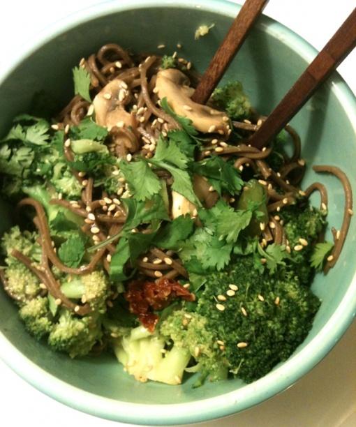 Buckwheat-Soba-Noodles-Recipe | dinners | Pinterest