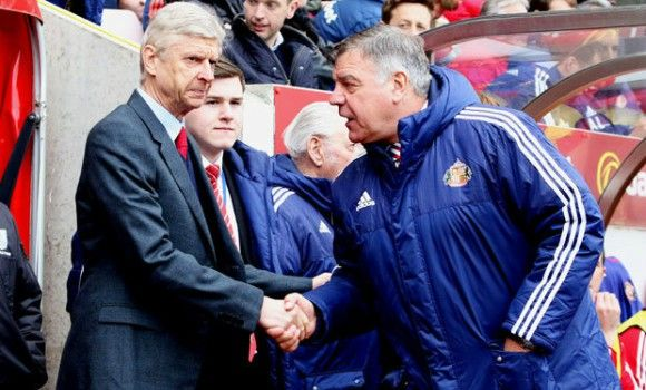Arsene Wenger wary of Sam Allardyce reunion on Sunday