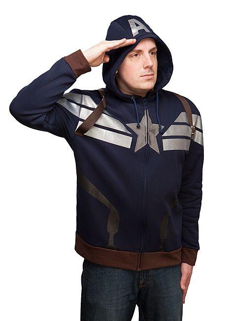 Exclusive Premium Captain America Hoodie