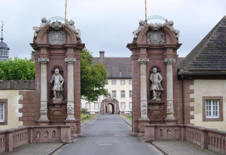 Entrance to Corvey Abbey near Höxter, Germany by Spunky wikimedia commons
