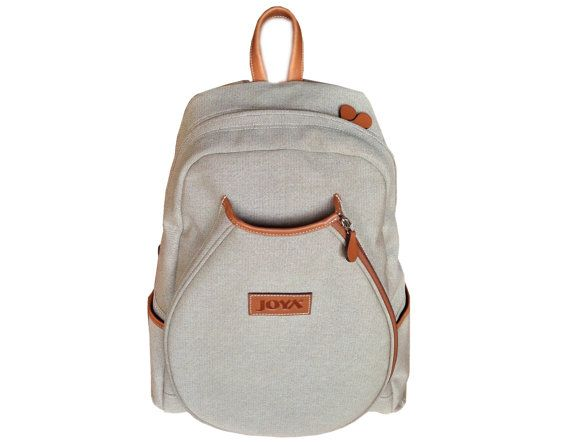 Joya Tennis Bag Back Pack Genuine Leather 4 Rackets Unique Design (Hand Made) on Etsy, 103,60 €