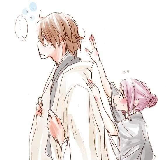 Hinamori and Aizen