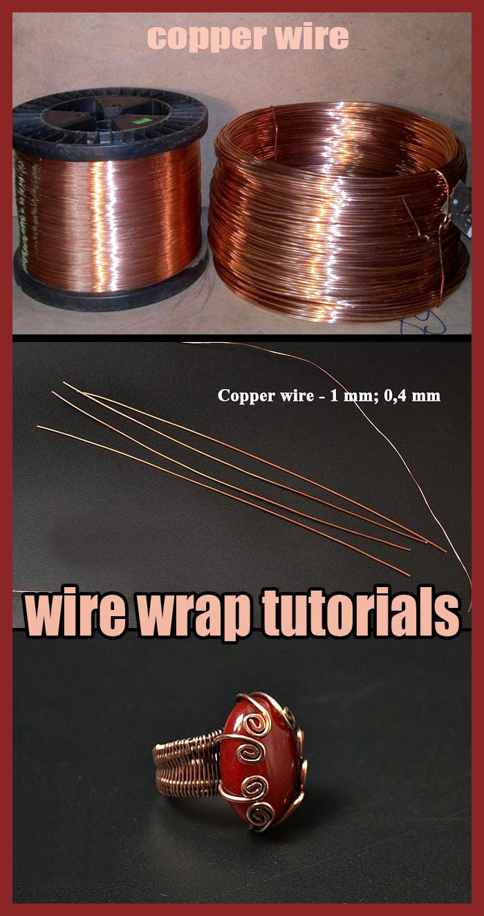 Wire Wrap Tutorial How To Make Wire Wrapped Ring In 2020 Wire Wrapping Wire Wrapped Rings Wire Jewelry Making
