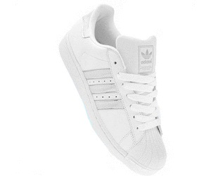 Adidas Superstar 2 White on White