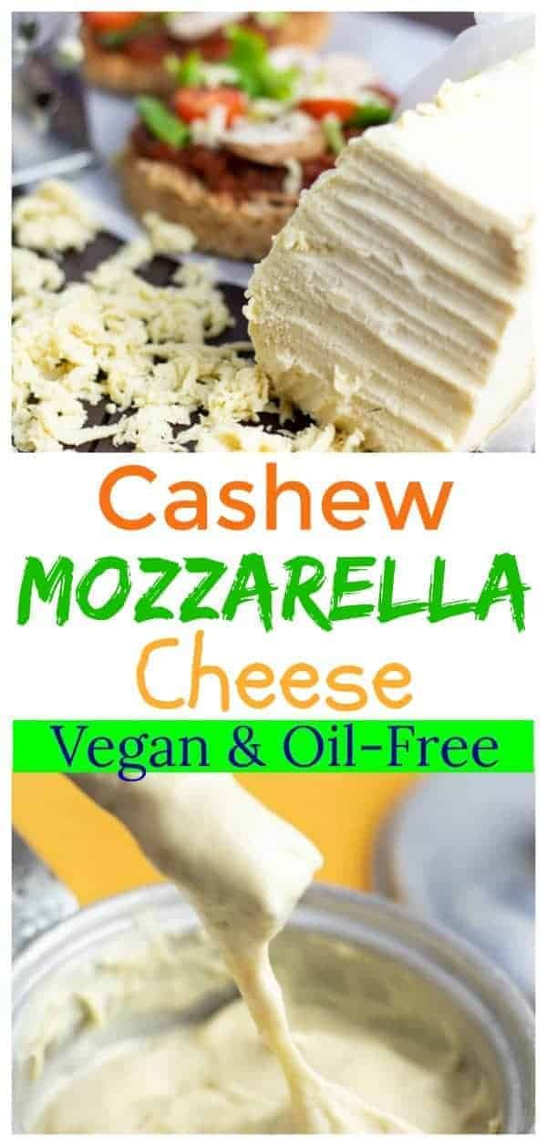 Easy Cashew Cheese Mozzarella Recipe In 2020 Cashew Cheese Dairy Free Cheese Recipe Dairy Free Cheese