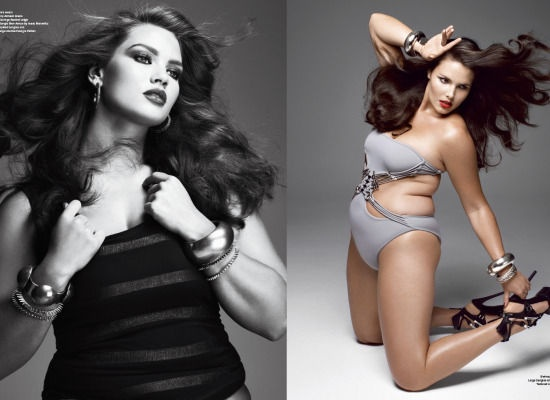 Plus Size Models Pose For Sexy V Magazine Spread
