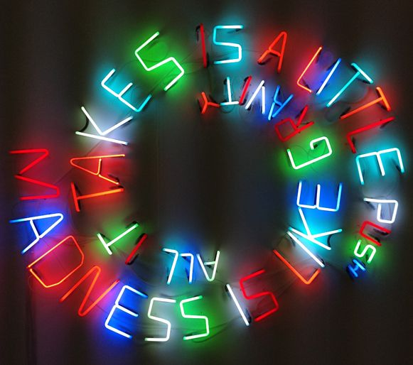 "Hubert Czerepok ""Madness is Like Gravity"" at Biennale of Sydney 2014, photo Contemporary Lynx"