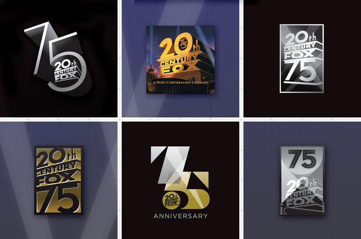 Th Anniversary Logo Th Century Fox Design STRUCK - The most iconic logos of the 20th century showcased in an extremely creative animation