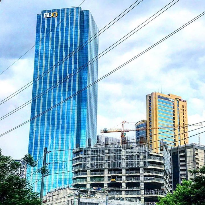 Henry Sy's 2B BDO Building  another one under construction #philippinerealestate #therealestategroupphilippines #MandaluyongRealEstate #bdoortigastower