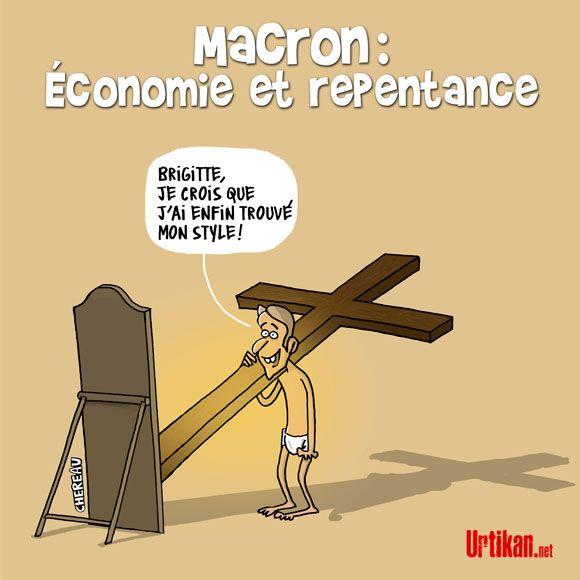 Emmanuel Macron déclenche une polémique : Les anti-mariage gay ont été «humiliés». - Dessin du jour - Urtikan.net